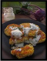 kohlrabi-fritters