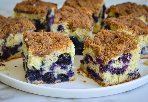 Blueberry Coffee Cake (AKA Blueberry Boy Bait)