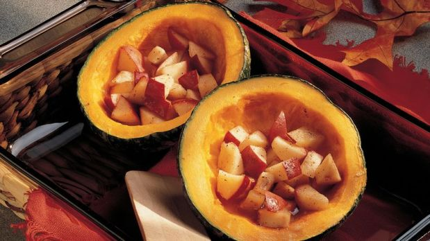 Buttercup Squash withApples